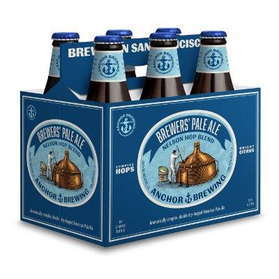 Anchor Steam Brewer's Pale Ale 12oz 6Pk Btl