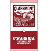 Claremont Craft Ales Raspberry Gose 16oz 4Pk Cans