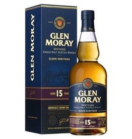 Glen Moray 15Yrs. Speyside 750ml Single Malt Scotch Whisky