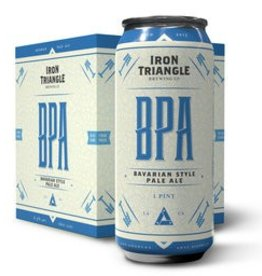 Iron Triangle Bavarian Style Pale Ale 16oz 4Pk Cans