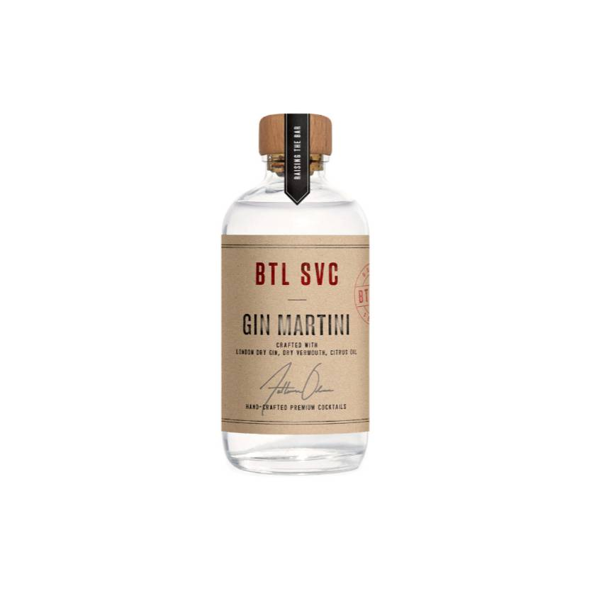 BTL SVC Gin Martini 100ml