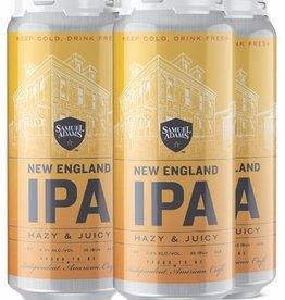 Sam Adams New England IPA Hazy & Juicy 16oz 4Pk Cans