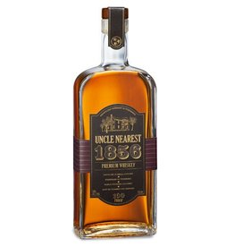 Uncle Nearest 1856 Premium Whiskey Hand Made Maple Charcoal Filtered 100Pf 750ml