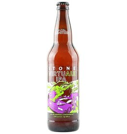 Stone Virtu Ale IPA Brewed With Incognito Hops 22oz Bomber