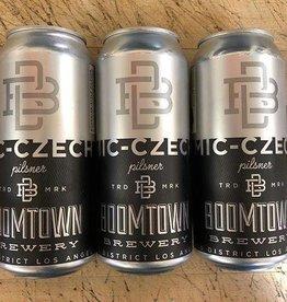 BoomTown Mic Czech Pilsner 16oz 4Pk Cans