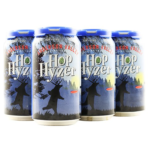 Anderson Valley Hop Hyzer Ale 12oz 6Pk Cans