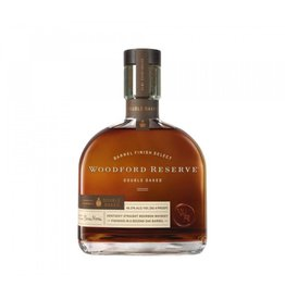 Woodford Reserve Double Oaked Barrel Finish Select Kentucky Straight Bourbon Whiskey 750ml