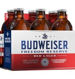 Budweiser Freedom Reserve Red Ale 12oz 6Pk Btls