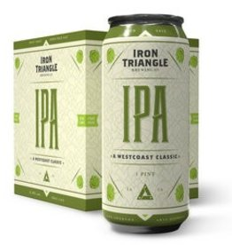 Iron Triangle IPA 6.8%ABV. 16oz 4Pk Cans
