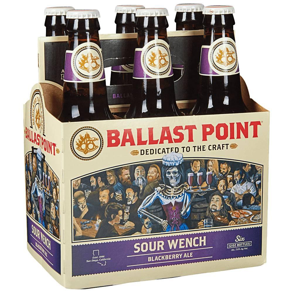 Ballast Point Sour Wench 12oz 6Pk Btls