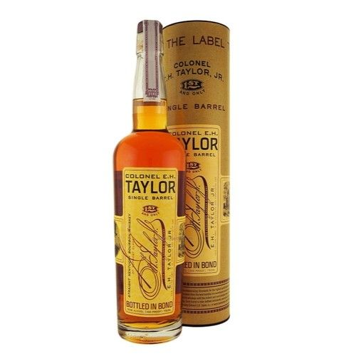 Colonel E. H. Taylor Single Barrel Bottled In Bond Straight Kentucky Bourbon Whiskey 750ml