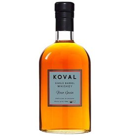 Koval Single Barrel Whiskey Four Grain 750ml