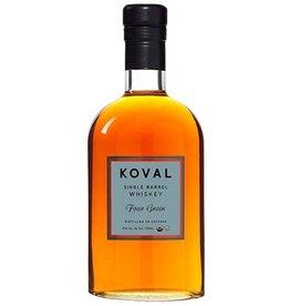 Koval Single Barrel Whiskey Four Grain 750ml