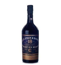 Lock Stock And Barrel Straight Rye Whiskey 18 yr 109 Prf