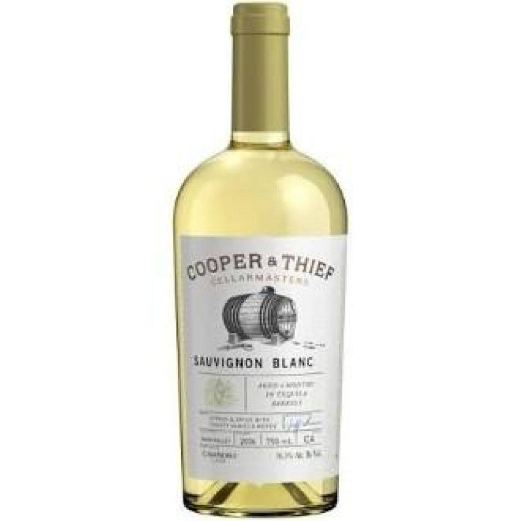 Cooper & Thief California Sauvignon Blanc Aged 3 Months In Tequila Barrels 750ml