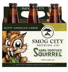 Smog City Sabre-Toothed Squirrel Hoppy Amber Ale 12oz 6Pk Btls