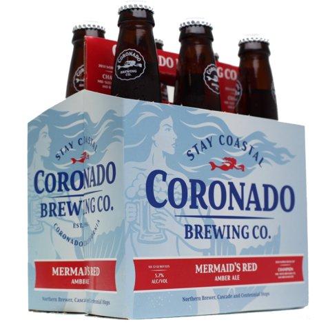 Coronado Mermaid Red Ale 12oz 6Pk Btls