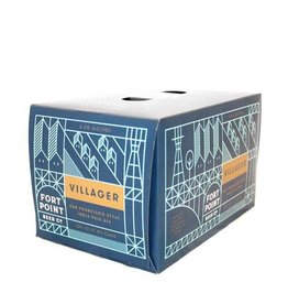 Fort Point Villager IPA 12oz 6Pk Cans