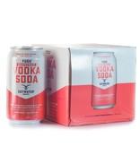 Cutwater Grapefruit Vodka Soda 12oz 4Pk Cans