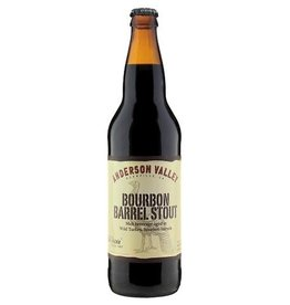 Anderson Valley Old Fashioned Malt Beverage Aged In Wild Turkey Bourbon Barrels 22oz Bomber