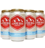 Alpine Willy American Wheat Ale 12oz 6Pk Cans
