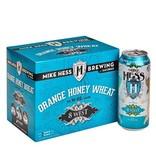 Mike Hess 8 West Orange Honey Wheat 12oz 6Pk Cans
