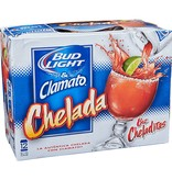 Bud Light & Clamato Cheladita 8oz 12Pk Cans