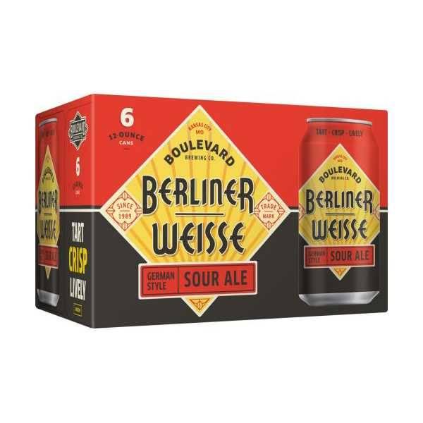 Boulevard Berliner Weisse Sour Ale 12oz 6Pk Cans