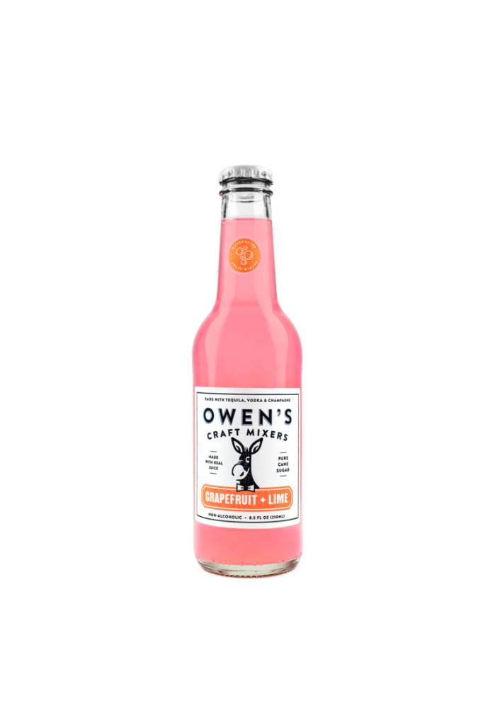 Owen's Craft Mixers Grapefruit Lime Non-Alcoholic 25.4oz