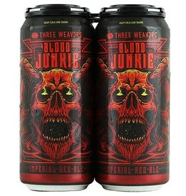 THREE W3AVERS Blood Junkie 16oz 4Pk Cans