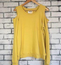 Nation LTD Drew Cold Shoulder Pullover