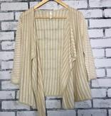 Braintree Clothing Timian Stripey Hemp Cardi