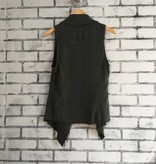 Fifteen Twenty Raw Edge Vest