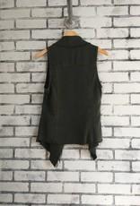 Fifteen Twenty Raw Edge Vest