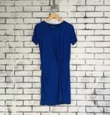 Fifteen Twenty Side-Twist Drape Dress