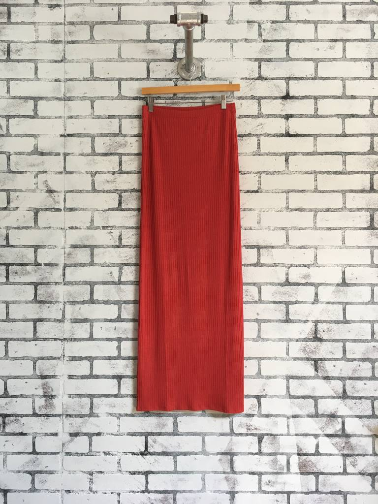 LA Made Lulu Maxi Column Skirt