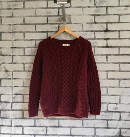 Bibico Roxie Pure Wool Aran Sweater