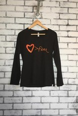 Fair Anita Love is Greater Than Fear L/S Tee
