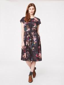 Vermeer Floral Tencel Dress