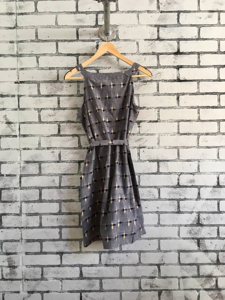 Passion Lilie Chambray Ikat Shift Dress