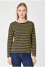 Thought Clothing Campbell Stripy Jersey Top