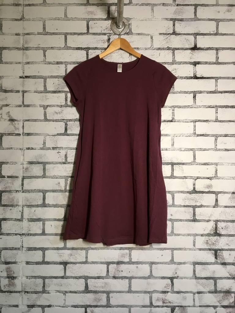 Soul Flower Basic T-shirt Dress