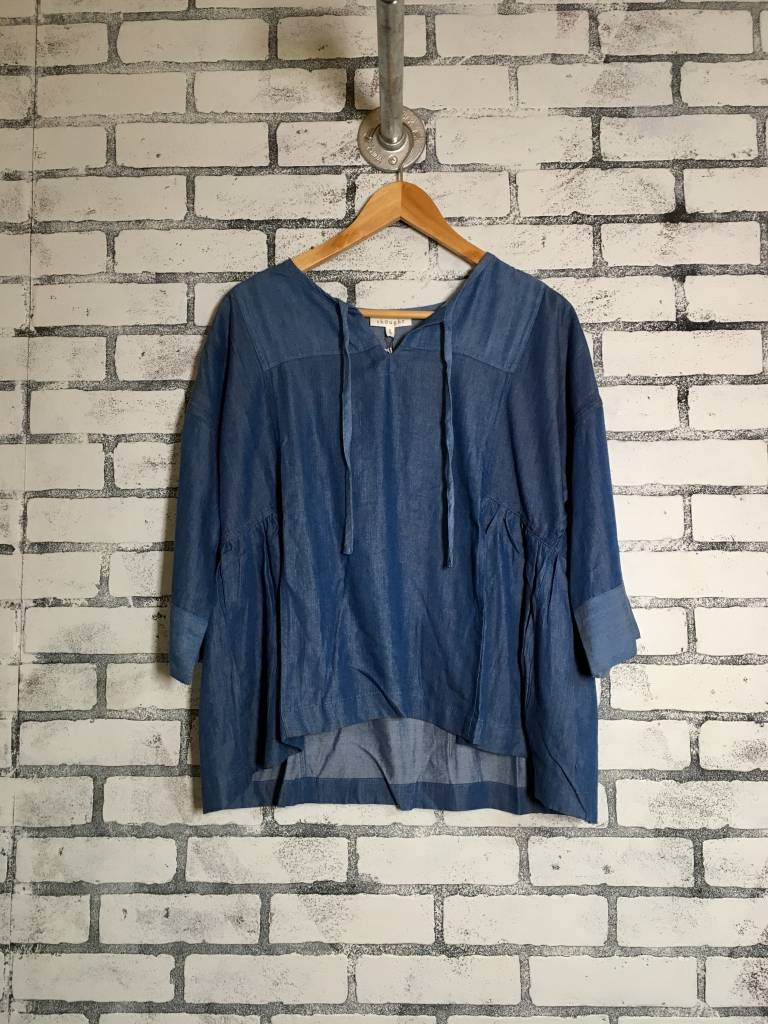 Thought Clothing Meena Chambray Boxy Top