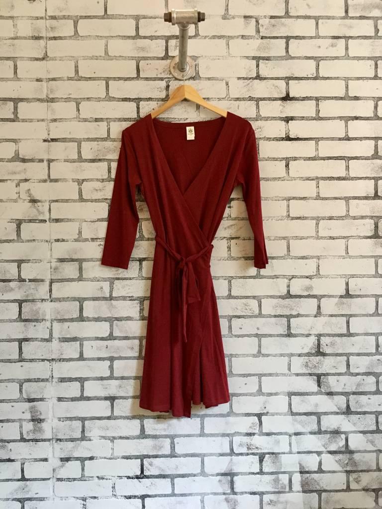 Soul Flower Organic Cotton Wrap Dress