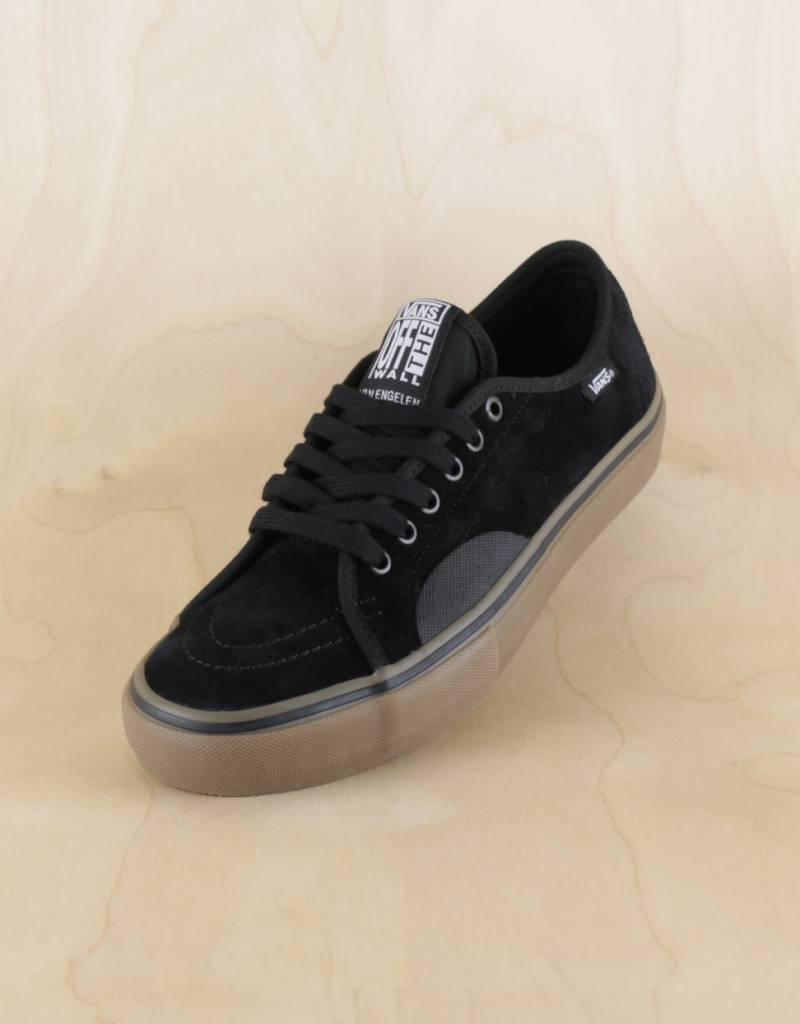 vans black gum