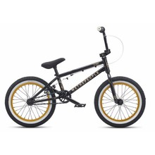 """We The People We The People Seed 16"""" 2017 Complete BMX Bike 15.75"""" Top Tube Matte Black"""