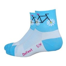 DeFeet DeFeet Aireator Pedal Power Sock: Blue MD/LG