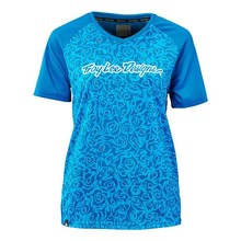 Troy Lee WMNS SKYLINE JERSEY; EVIL TURQUOISE