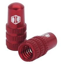 BOX One Cone valve cap presta red
