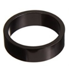 """Wheels Manufacturing 15mm 1-1/8""""  Headset Spacer Black Each"""